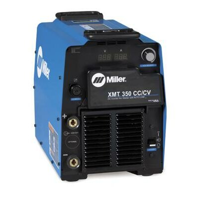 Miller Electric Mfg Co XMT 350 CC/CV 208/575V Multi-Process Welder 400A with Auto-Line and Auxiliary Power