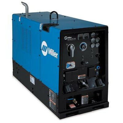 Miller Electric Mfg Co Air Pak CC/CV Generator 24V Welder 750A with 64HP Deutz Diesel Engine and Air Compressor/Battery Charger Deluxe Package