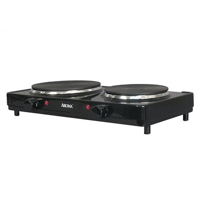 Aroma Double Electric Range Die-Cast Burners