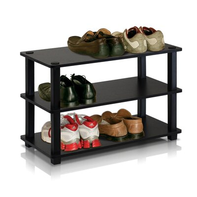 Turn-S-Tube 3-Tier Shoe Rack