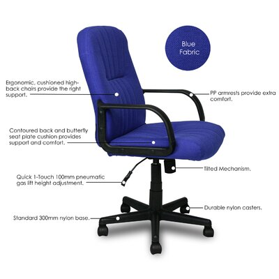 Furinno Hidup High Back Executive Chair