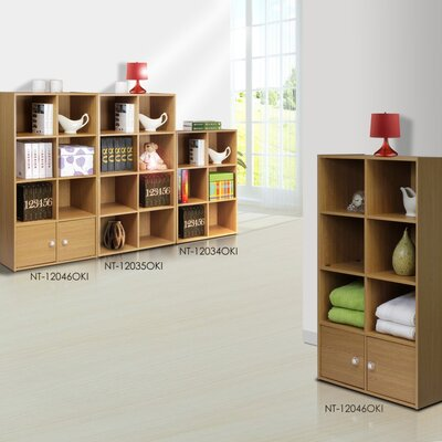Furinno Click and Easy Kuib 8 Cube Bookcase Storage Unit