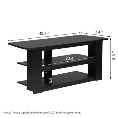 """Furinno Parsons 42.1"""" TV Stand"""