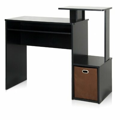 Furinno Econ Home Office Computer Writing Desk with Bin