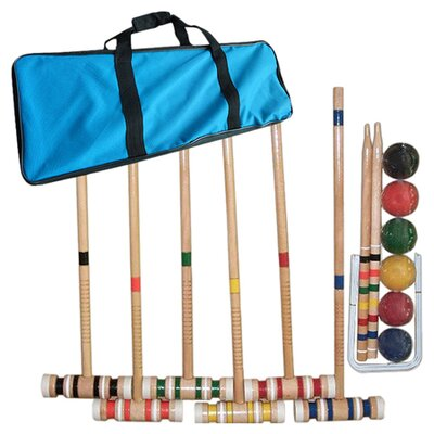 <strong>Trademark Global</strong> Complete Combo Croquet Game Set