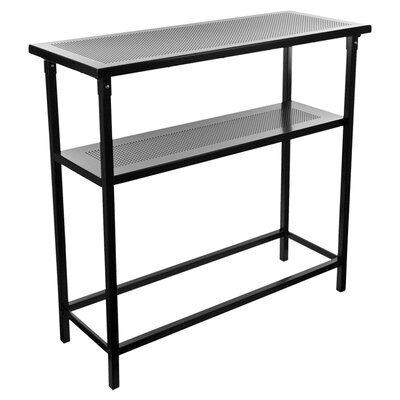 Trademark Global Deluxe Metal Portable Bar Table