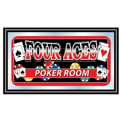 <strong>Trademark Global</strong> Four Aces Mirror Poker Room