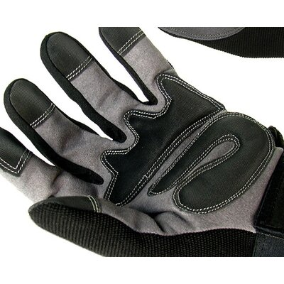 Trademark Global Small Spandex Mechanic Glove with Velcro