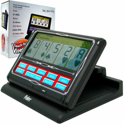 Trademark Global Portable Video Poker Touch - Screen 7 in 1