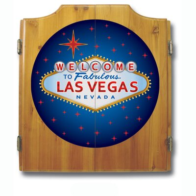 Trademark Global Las Vegas Dart Cabinet Set