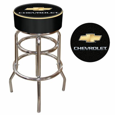 Trademark Global Chevy Padded Bar Stool