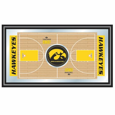 Iowa Basketball Framed Full Court Mirror