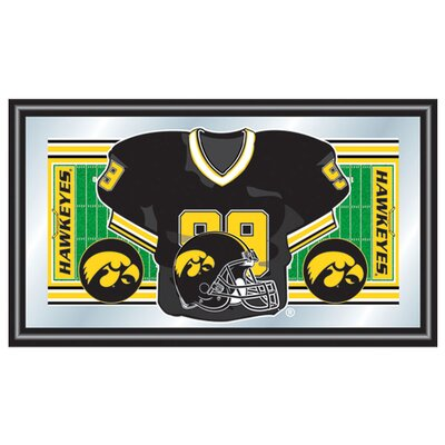 Iowa Football Framed Jersey Mirror