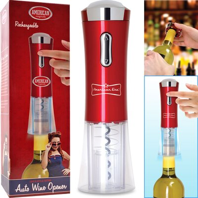 Trademark Global Automatic Wine Corkscrew Opener