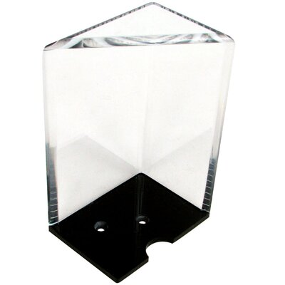 Trademark Global 8 Deck Professional Grade Acrylic Discard Holder with Top