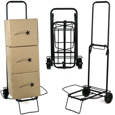 Trademark Global Folding Travel Cart