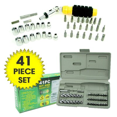 Professional Screwdriver Bit and Socket Set