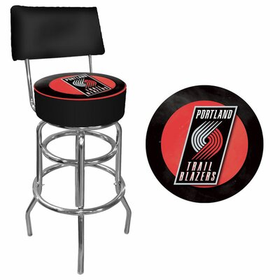 NBA Padded Swivel Back Bar Stool