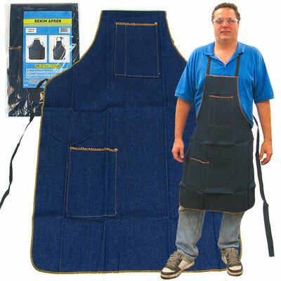 2 Pocket Heavy Duty Denim Shop Apron
