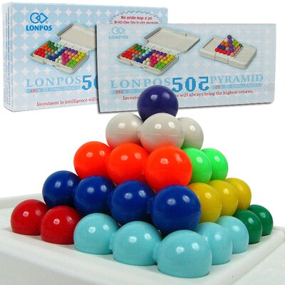 Trademark Global Lonpos 3 Dimensional 505 Brain Intelligence Game
