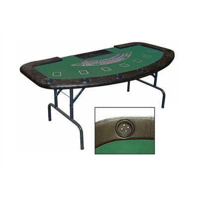 Poker & Casino Full Size Folding Blackjack Table