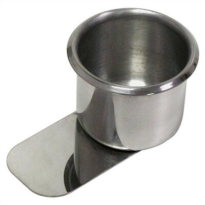 Trademark Global Stainless Slide-Under Steel Cup Holder