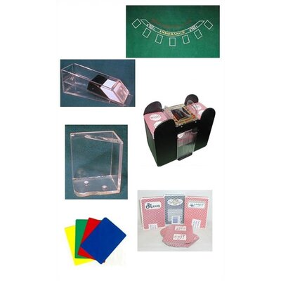 Trademark Global Blackjack Accessories Set