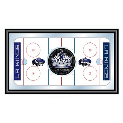 Trademark Global NHL Framed Hockey Rink Mirror