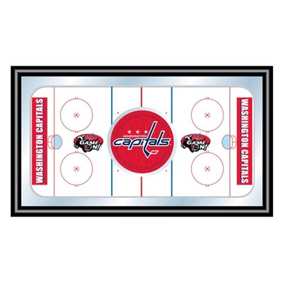 Trademark Global NHL Hockey Rink Framed Graphic Art