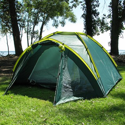 Trademark Global Happy Camper Three Person Tent