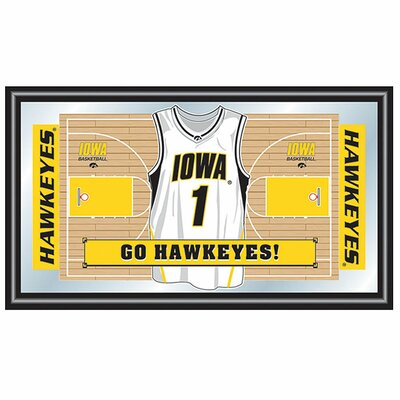 Trademark Global University of Iowa Basketball Framed Jersey Mirror