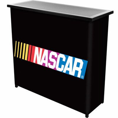 Trademark Global NASCAR 2 Shelf Portable Bar with Case