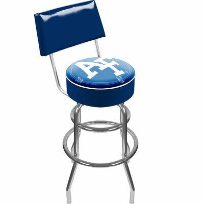Trademark Global NCAA Swivel Bar Stool with Cushion