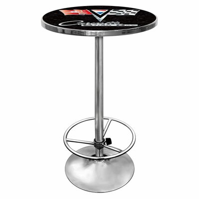 Trademark Global Corvette C2 Chrome Pub Table