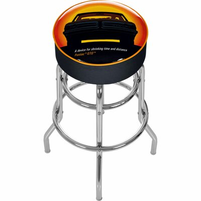 Pontiac GTO Time and Distance Padded Barstool