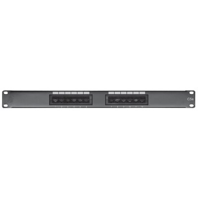Comprehensive 12 Port Cat5e Patch Panel