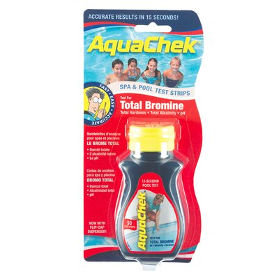Aqua Chek Total Bromine Pool and Spa Test Strip