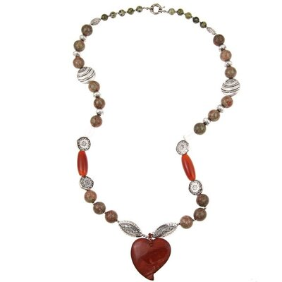 Pearlz Ocean Fashion Gemstone Fashion Necklace