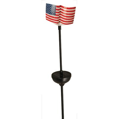 American Flag Stake Light