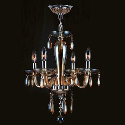 Gastby 4 Light Mini Chandelier