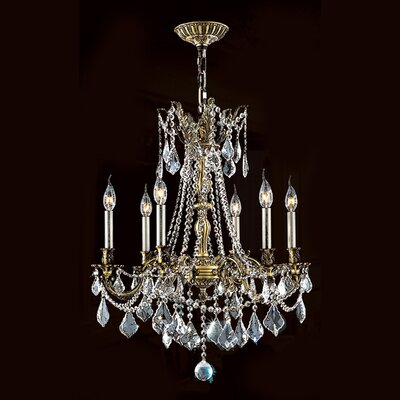 Windsor 6 Light Crystal Chandelier