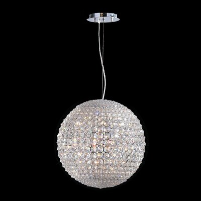 Pluto 12 Light Globe Pendant