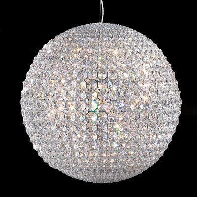 Pluto 22 Light Globe Pendant