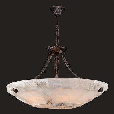 Pompeii 5 Light Bowl Pendant