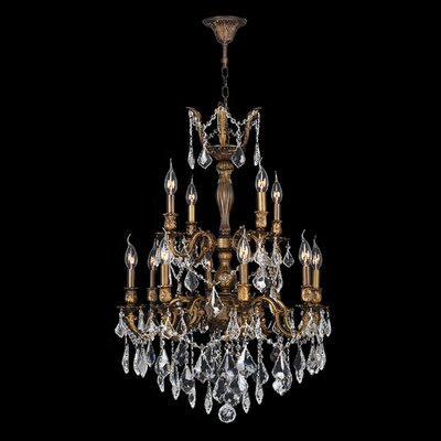 Versailles 12 Light Crystal Chandelier