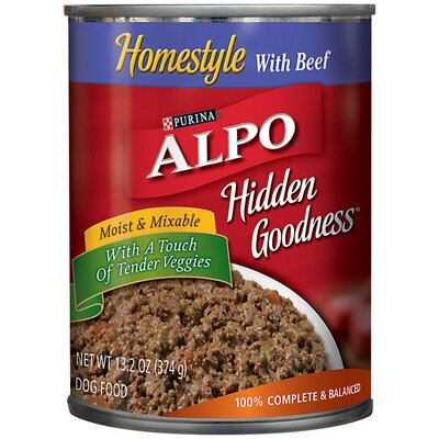 Alpo Prime Hidden Goodness Beef Wet Dog Food