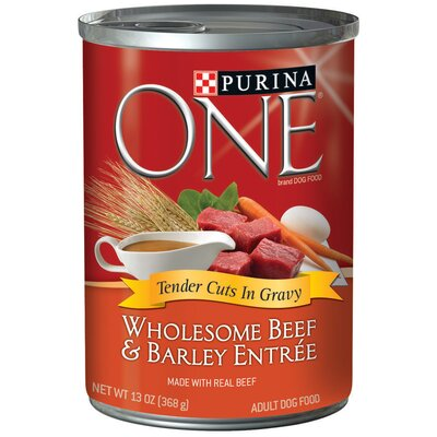 Wholesome Beef / Barley Wet Dog Food (13-oz, case of 12)