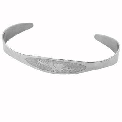 Stainless Steel Heart Adjustable Bracelet