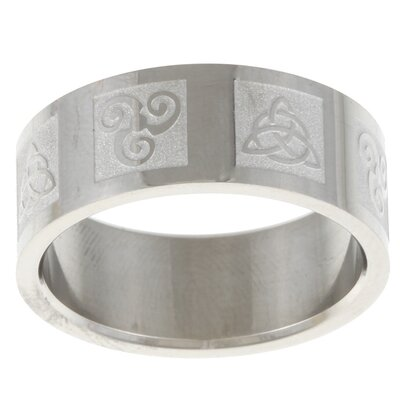 Ancient Celtic Symbol Band Ring