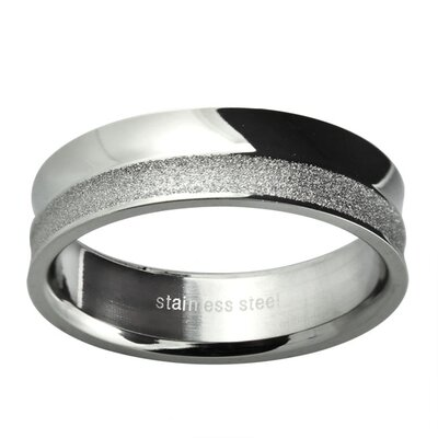 Ladies Polished and Diamond Cut Textured Wedding Band Ring